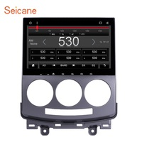 Seicane 9 Android 6.0 1024*600 HD Touchscreen Car Radio for 2005 2010 Old Mazda 5 GPS Navigation Bluetooth Aux 4G WIFI USB