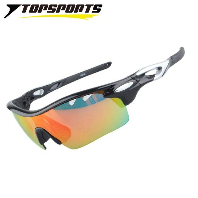 8e5ad51e5c TOPSPORTS 3 lenses UV400 Cycling Polarizd Glasses Outdoor Sport riding  Driving Bike qualify Mirror Sunglasses Men Women Bicycle