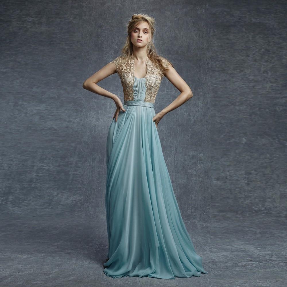2018 robe de soiree longue Woman Formal Dress Custom Made Abiye Elegant A Line Party Dresses