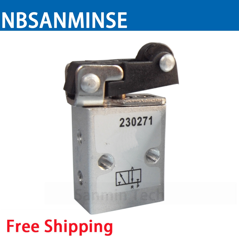 230270 / 230271 Mini Change Valve M5 Mechanical Valve Pneumatic Valve High Quality NBSANMINSE
