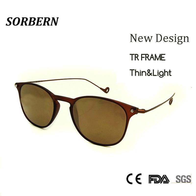 SORBERN Nuevo 2018 Luxury Italy Brand Desinger Gafas de sol redondas - Accesorios para la ropa - foto 1