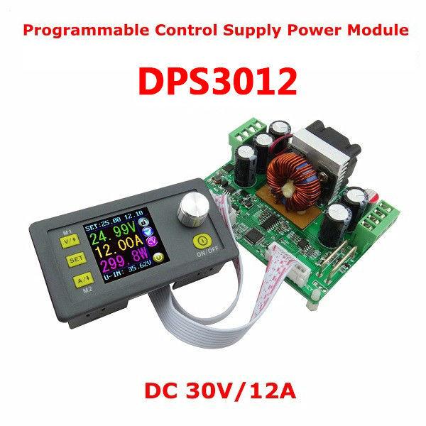 DPS3012 32 V 12A Fanfarrão Ajustável DC Voltímetro Amperímetro Constante Módulo Integrado Com Display Colorido
