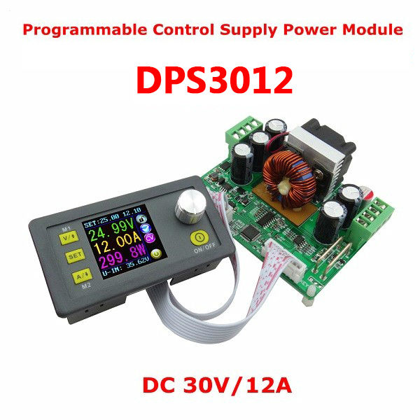 DPS3012 32V 12A Buck Adjustable DC Constant Module Integrated Voltmeter Ammeter With Color Display