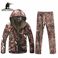 Winter thermal fleece camouflage tactical military uniform multicam, airsoft painball equipment military uniform for outdoor