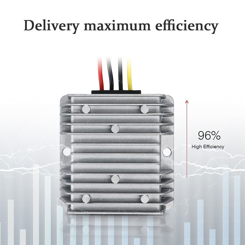 Vehemo автомобили DC12V к DC24V DC преобразователь Step-адаптер постоянного тока Smart регулятор конвертер Мощность конвертер Водонепроницаемый