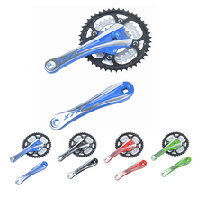 XLX Mountain Bike Chain Guard Crankset 44-32-22 9 Speed 170MM Cycling Chainset