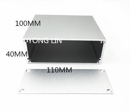 Алюминиевый корпус/алюминиевый корпус печатной платы, 1 шт., 110*40-100 мм