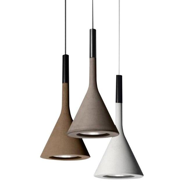 Nordic pendant lighs post modern dining room macaron colorful Droplight horn resin living room bedroom decoration hanging lamp