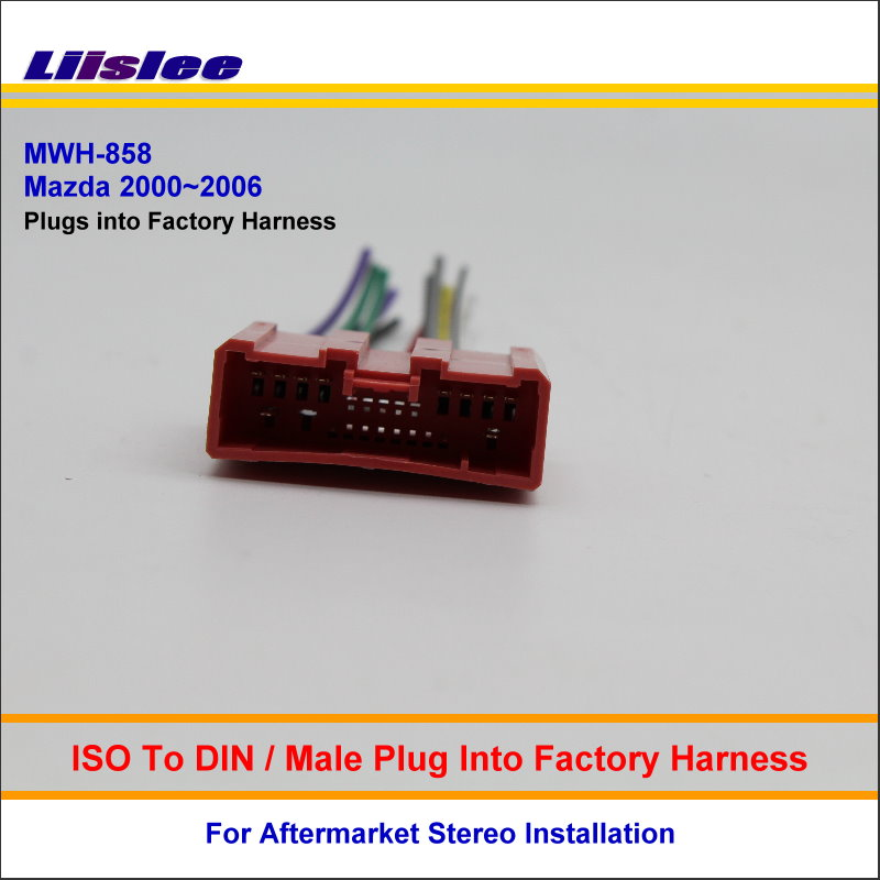 Liislee Car ISO Wiring Harness Connector Cable For Mazda Millenia 626 MPV Protege Plugs into Factory mazda mpv 31036 harness wires tcm mazda free wiring diagrams vcma-20uls wiring diagram at eliteediting.co