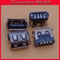 10-1000 шт./лот micro USB 2 0 зарядный порт Jack 4pin 180-градусная док-станция штекер черный гнездовой разъем материнская плата короткий корпус