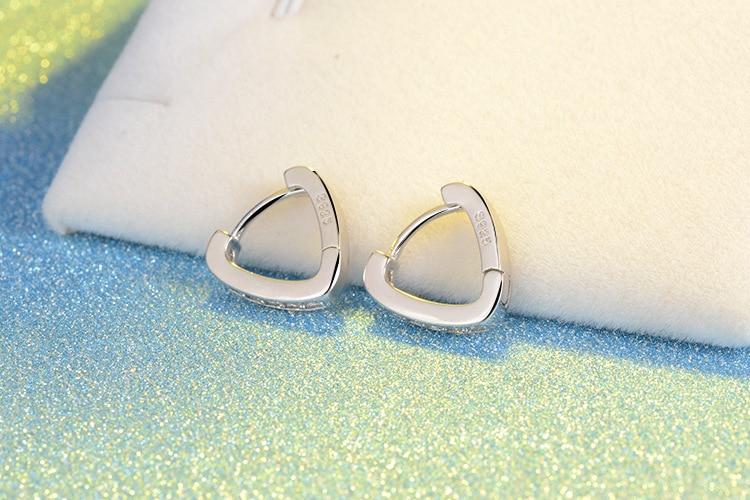 Argjendë e modës RUOYE Single Luksoze e Rreshtit Luksoz Zemra me - Bizhuteri të modës - Foto 5