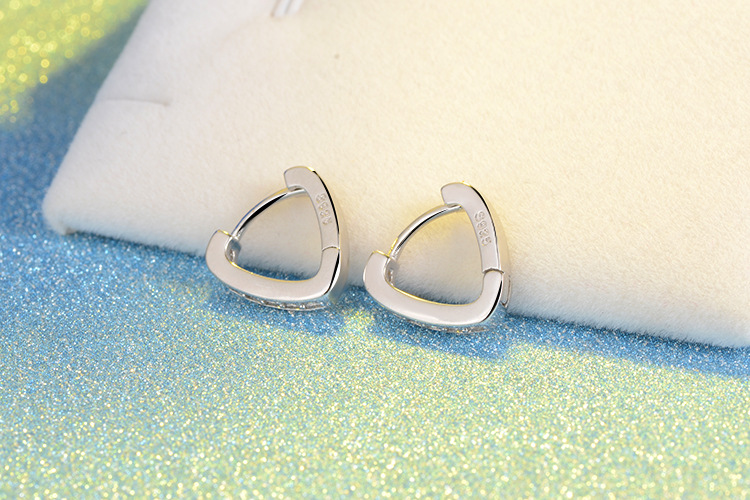 RUOYE Μοντέρνο ασημένιο σκουλαρίκια - Κοσμήματα μόδας - Φωτογραφία 5