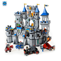 Model Building Kits Compatible With Lepins Castle Medieval Lion 3D Blocks Educational Blocks Bricks Toys Hobbies