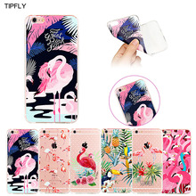Case for Apple iPhone 6/6s,6 Plus/6s Plus, Hollow Flamingo Series, Fashion Lovely Ultra Slim Crystal Clear TPU Rubber Case Cover