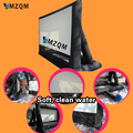 inflatable movie screen strong 210D oxford cloth with free air blower inflatable projection movie screen inflatable film screen