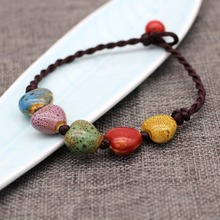 New Handicraft vintage heart shape lady anklets ethnic style Ornaments Bohemia jewelry Prom Party travel accessory free shipping