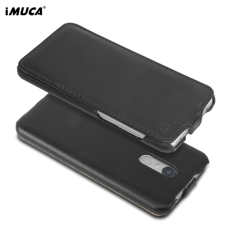 Luxury PU Leather Case For Xiaomi Redmi 5 Plus Case Cover iMUCA Wallet Flip Phone Silicone Cases For Xiaomi Redmi 5 Plus Cover