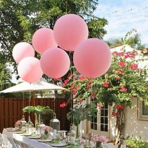 Image 4 - Globos de látex grandes y coloridos de 36 pulgadas, globo de alta calidad hinchable para boda, fiesta de cumpleaños, decoración, 1 ud.