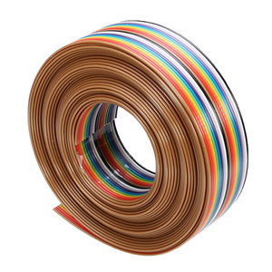 5M 20P DuPont Cable Rainbow Fl