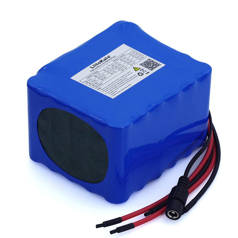 Image 2 - LiitoKala 12V 20Ah high power 100A discharge battery pack BMS protection 4 line output 500W 800W 18650 battery+ 12.6V 3A Charger-in Battery Packs from Consumer Electronics