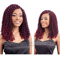 18inch havana mambo twist crochet braid hair ombre hair extensions crochet hair braiding Curly crochet hair extensions