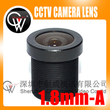 100pcs High Quality 1.8mm lens 170D CCTV Board Camera Lens M12 For CCTV Security Camera Free Shipping