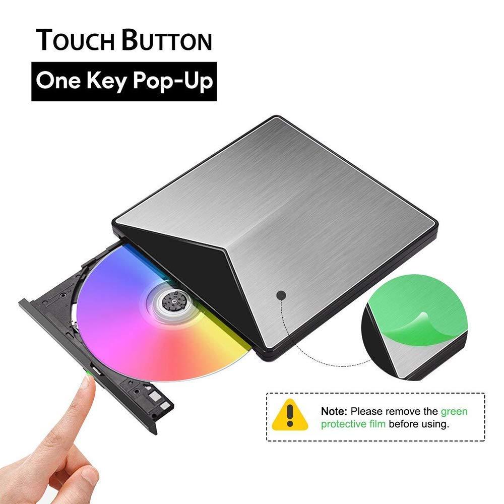 US $25 97 51% OFF|External CD DVD Drive Burner Player USB3 0 Reader Optical  Drive For Mac OS Laptop Air iMac Desktop PC Support Windows10/8/7/XP-in