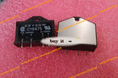 Free shipping 2PCS/LOT CY6475 15A new  solid state ModuleFree shipping 2PCS/LOT CY6475 15A new  solid state Module