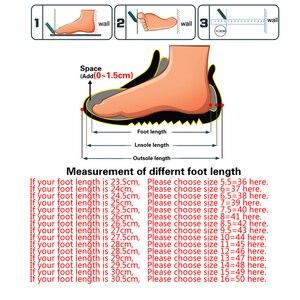 Image 5 - SURGUT Leather & Fur Vintage Genuine Leather Soft Loafers for Men Slip On Moccasins Boat Flats Shoes Big Size 36 50