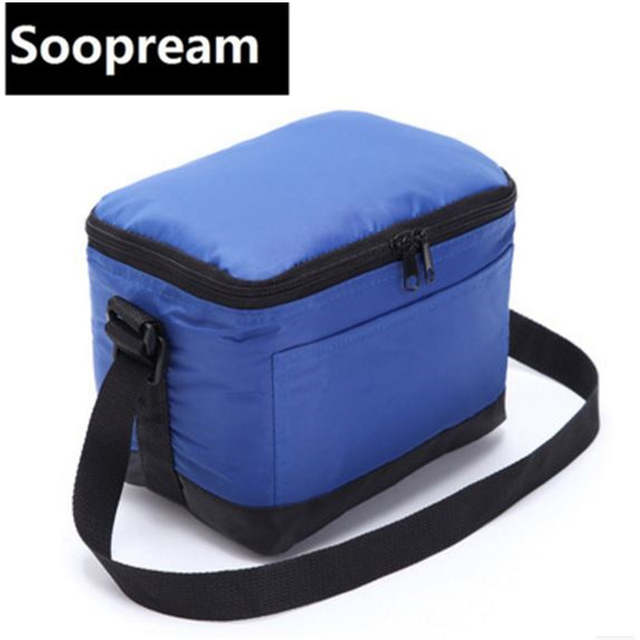 Placeholder Small Cooler Bag Insulated Cool Handbags Picnic Ice Pack Thermo Lunch Box Food Milk Fresh Insulation