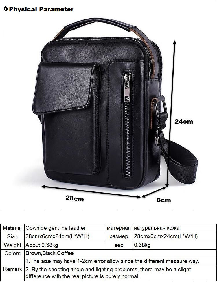 95d90572d7 Genuine Leather Men Bag Fashion Leather Crossbody Bag Shoulder Men  Messenger Bags Small Casual Designer Handbags Man Bag Material  Cowhide genuine  leather