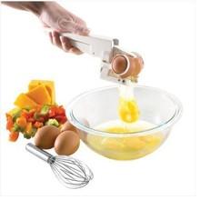 New arrival hot TV product Plastic Handheld EZ Cracker Egg Cracker Separator Egg Cutter Slicer Kitchen Tools
