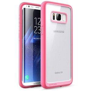 Image 4 - SUPCASE Samsung Galaxy S8 kılıfı UB stil Premium hibrid koruyucu İnce temizle kılıf TPU tampon + PC arka kapak için S8 kılıfı