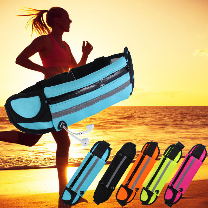 Running Belt Waist Bags Waterproof Sports Bag Jogging Fitness Gym Mobile Phone Bag Outdoor Sport Accessories Pouch Fanny Pack