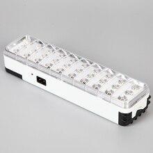 Светодиодный аварийный светильник, мини-светильник 30 светодиодный, 2 режима, перезаряжаемый аварийный светильник, лампа для дома, лагеря, улицы