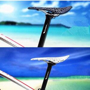 Image 5 - Reale Tioga sella TwinTail saddle Super Light Strada Mtb Sella Della Bici Della Bicicletta Sedile 141g Nero/Bianco