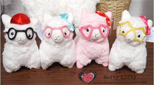 Alpacasso with glasses small - 1