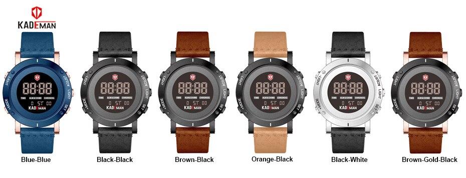 KADEMAN Fashion Man Watch Luxury Men Analog Digital Military Sport LED Waterproof Wrist Watch Relogio Masculino (19)