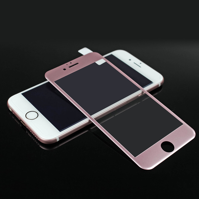3D Full Curved Tempered Glass for iPhone 6 Carbon Fiber premium real screen protector tempered glass film iphone 6s 7 plus