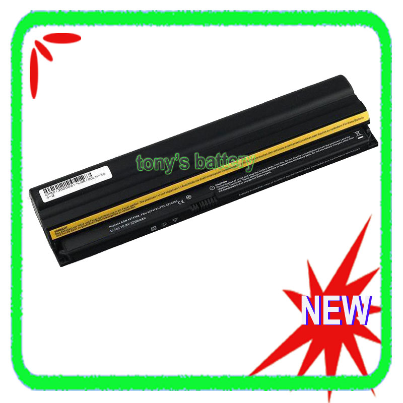 6 Cell Battery for Lenovo ThinkPad X100e X120e Edge E10 Edge 11 inch FRU 42T4783 42T4785 42T4786 42T4787 42T4789 0A36278