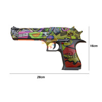 RX 617 пустынный Орел гелевые шарики бластер игрушечный водяной пистолет Авто маг-fed материал нейлон электрический