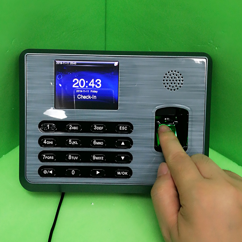New tcp/ip ZK Fingerprint time attendance time System free Software Fingerprint Time clock TX628 New Firmware