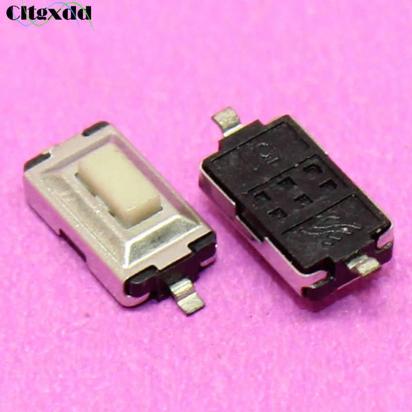 Cltgxdd 1 ~ 1000 pièces Tactile interrupteur marche/arrêt 3*6*2.5mm Tactile bouton poussoir Micro interrupteur momentané 2Pin 3X6X2.5 MM SMD bouton blanc