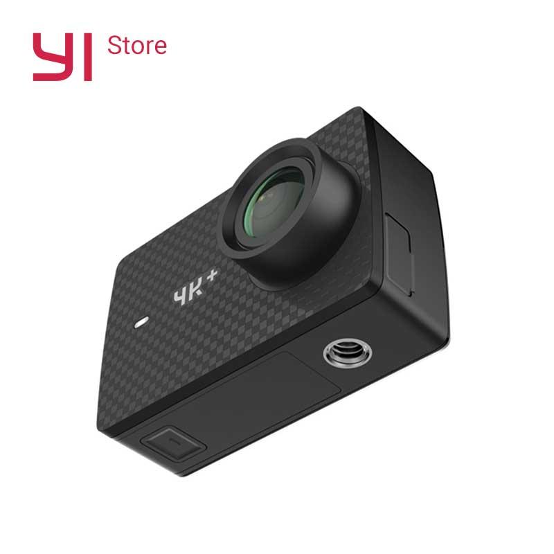 YI 4 k + (Plus) camera Action Internationale Édition Sport PREMIÈRE 4 k/60fps Amba H2 SOC Cortex-A53 IMX377 12MP CMOS 2.2 PMA RAM WIFI