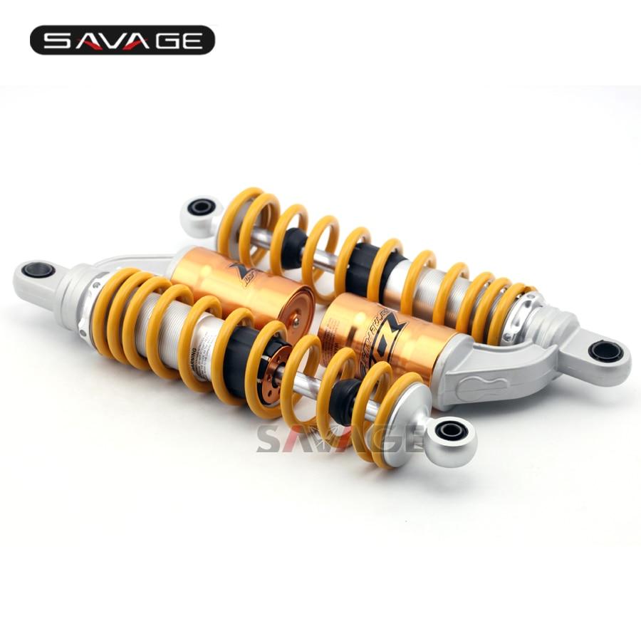 ФОТО DJ1 Motorcycle Air Shock Absorber Rear Suspension For YAMAHA XJR1200 1994-1997/ XJR1300 1998-2010/ XJR 400R 1995-2010 GG