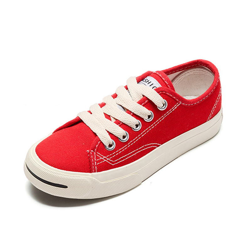 2018 Canvas Shoes Kids Children Sneakers Classic Boys Shoes Girls Sneakers Simple Canvas ...