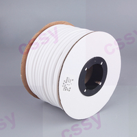 freeshipping 0.5 0.75 1.0 1.5 to 10mm2 PVC White Handwriting Ferrule Printing Machine Number Plum Tube Wire Sleeve Cable Marker
