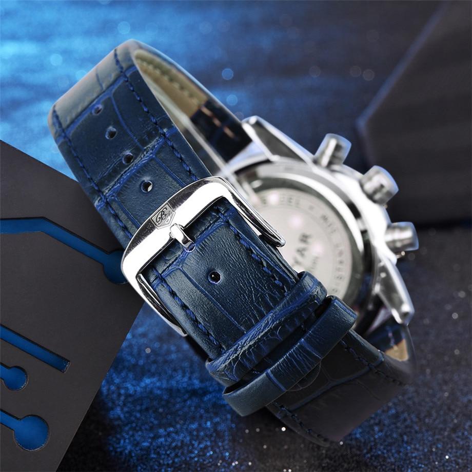 BENYAR Watch Men Waterproof Chronograph Business Dress Mans Watches Date Quartz Wristwatches Male Hour relogio masculino 2017 (14)