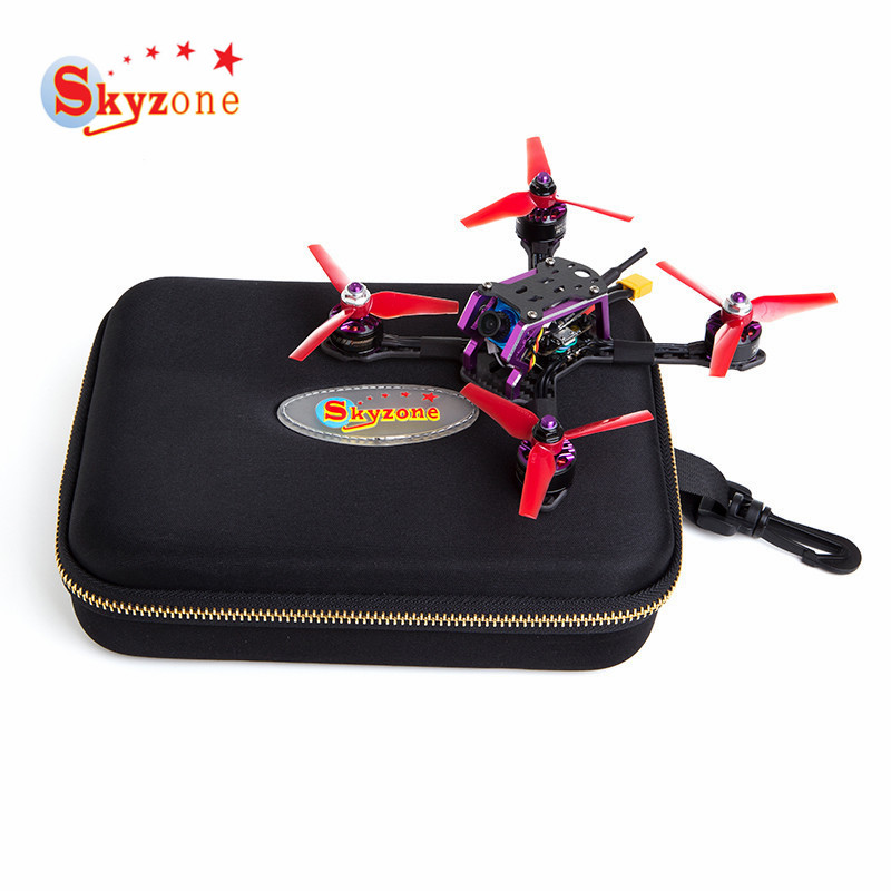 Skyzone S140 140mm RC FPV Racing Drone PNP W/ F3 OSD 4in1 20A 2-4S Dshot ESC 5.8G 48CH VTX Foxeer Micro Cam Prop DIY Multi Rotor emax f4 magnum all in one fpv stack tower system f4 osd 4 in 1 blheli s 30a esc vtx frsky xm rx