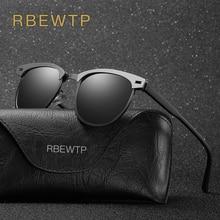 RBEWTP Unisex Retro Vintage Men's Sunglasses Polarized Drivi